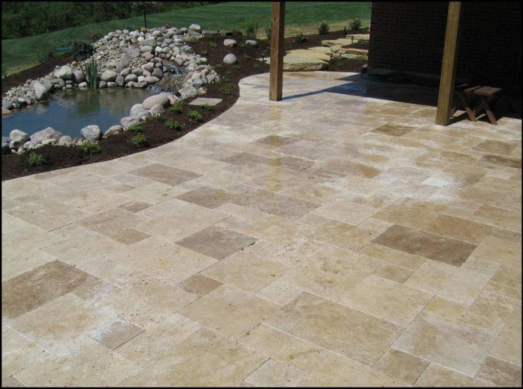 Outdoor Tile For Patio Non Slip Tiles Stone Flooring Ideas Wall