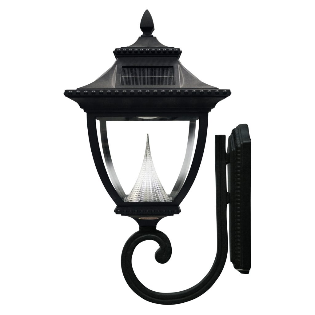 Pagoda Solar Lamp Series Wall Mount Gs 104w Gamasonic Solar Lighting