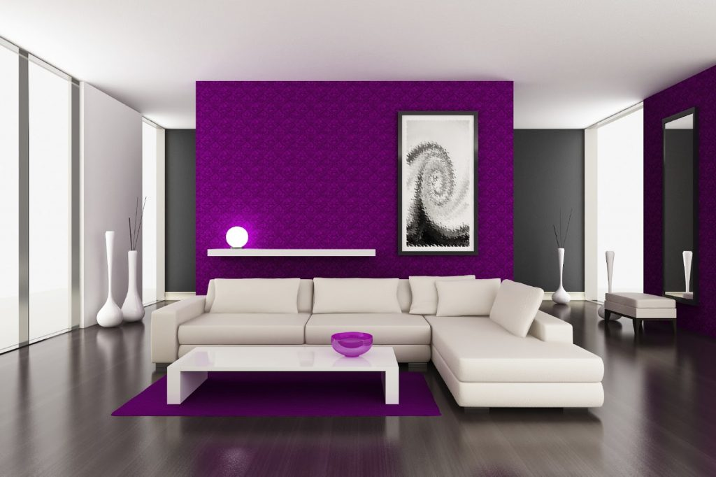 Paint Decorating Ideas Purple Wall Color Purple Paint Colors For
