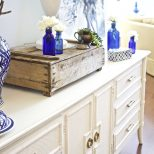 Painted Sideboard Buffet For The Dining Room 2 Bees In A Pod