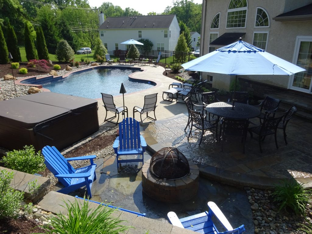 Paver Patio And Pool Deck Deans Landscaping Deans Landscaping