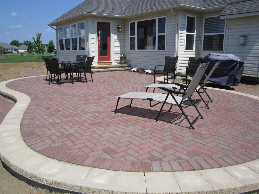 Paver Patio Designs Patterns Outdoor Waco How To Build A Raised