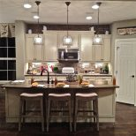 Pendant Lighting Over Kitchen Peninsula And Image From Post Pendant