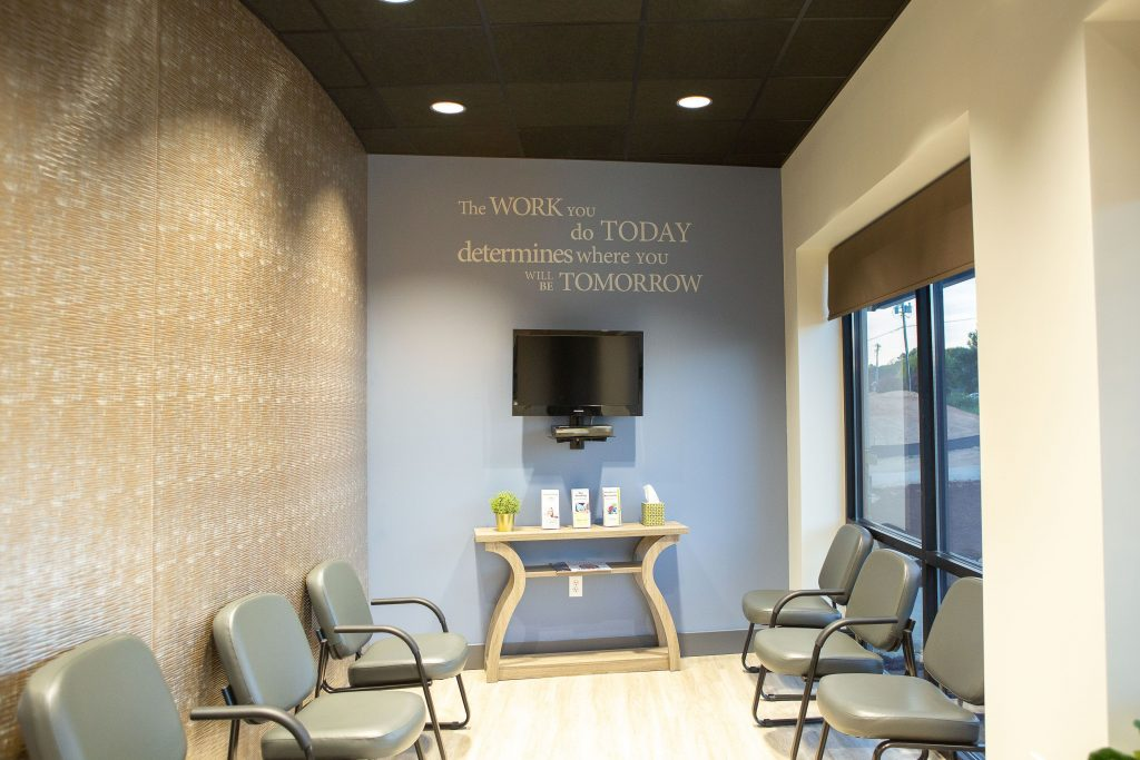 Physical Therapy Office Waiting Room Wall Art Design Decorations