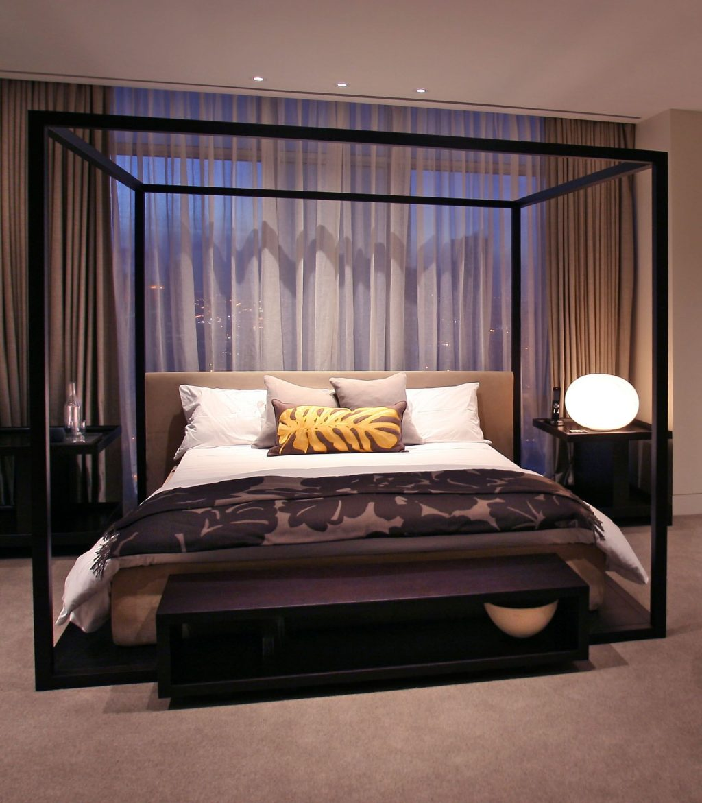 Pin Chandni Shinh On Latest Bedroom Modern Canopy Bed Bedroom