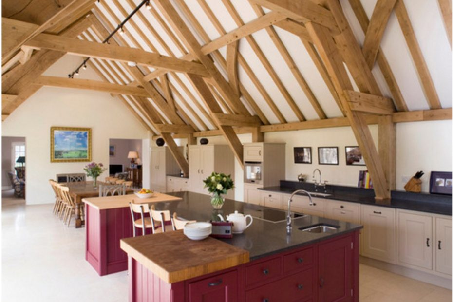 Pin Maja Adams On Kitchen Ideas Barn Kitchen Red Kitchen