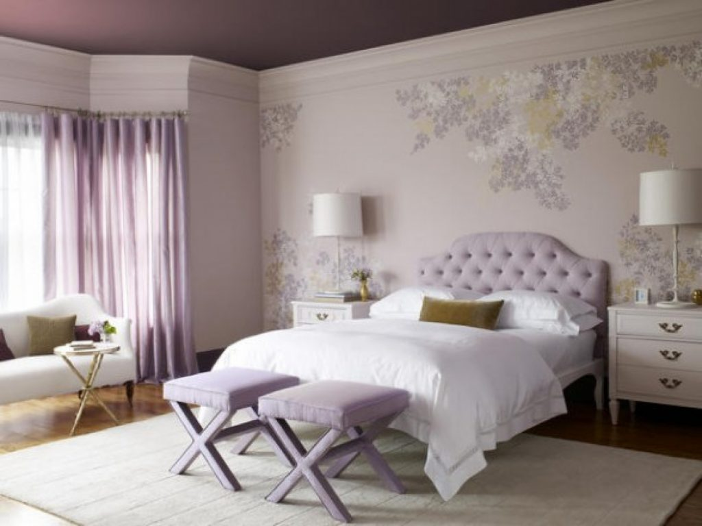 Preparing Purple Bedroom Ideas The Latest Home Decor Ideas