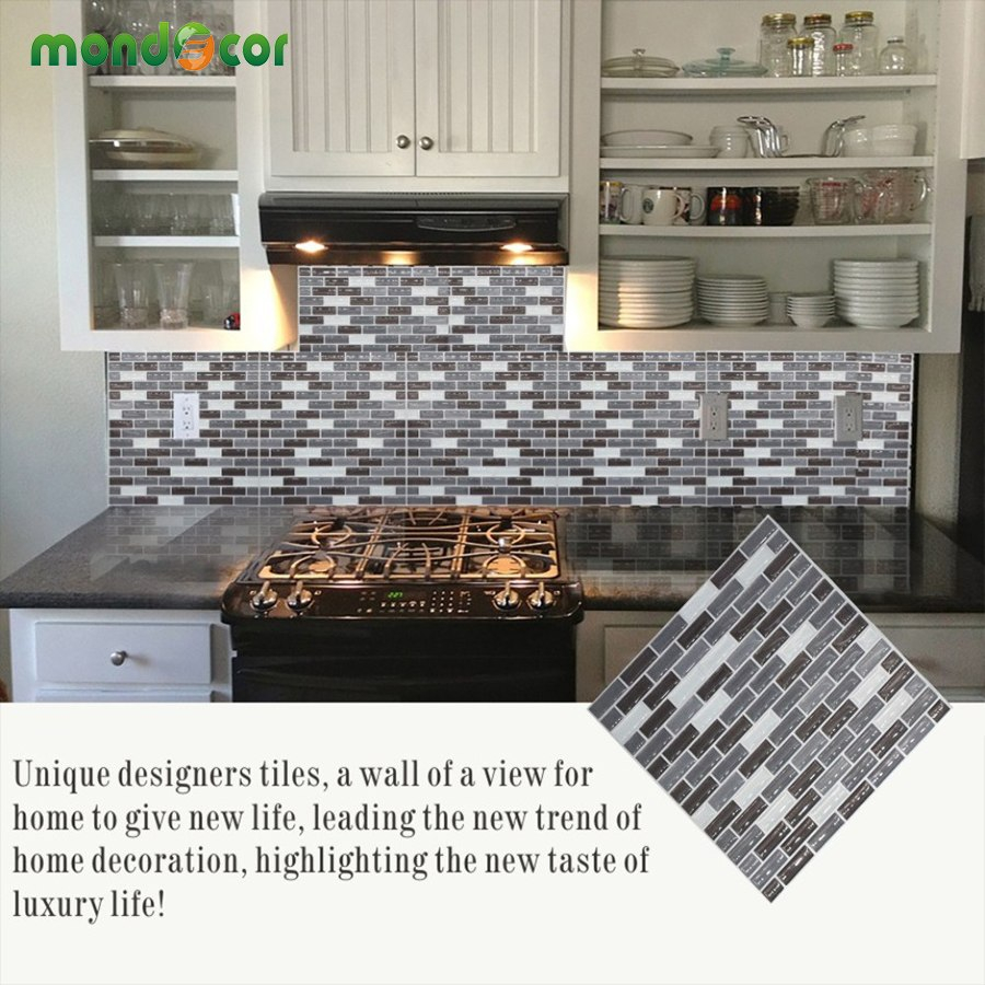 Pvc Vinyl Peel And Stick Mosaic Wall Tile Kitchen Backsplash Tiles
