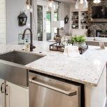 Regency Homebuilders Open Concept Living Large Kitchen White