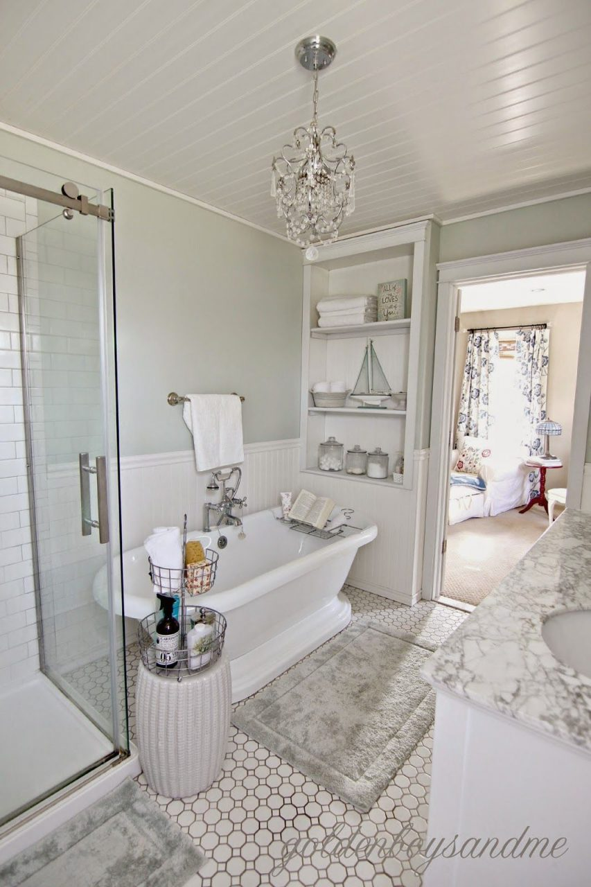 Revisiting The Master Bathroom Our 2 Year Blogiversary Diy Home