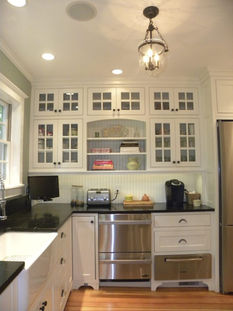 Revitalization Of A Greek Revival Kitchen Fine Homebuilding