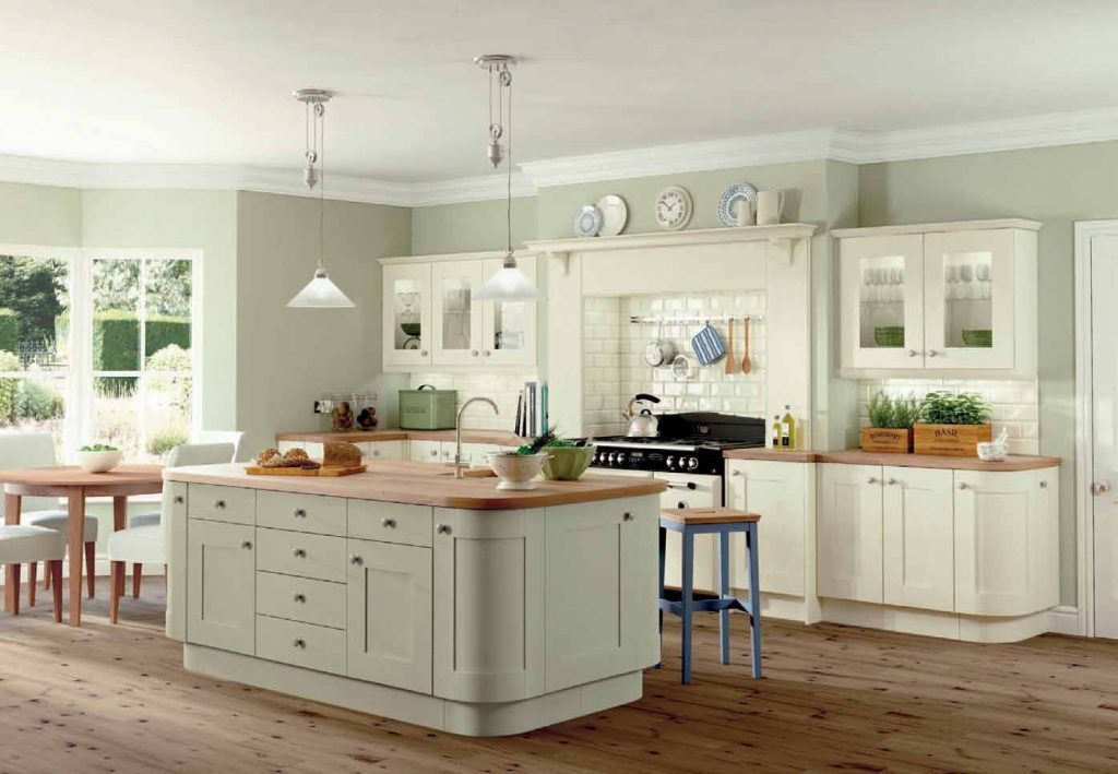 Rockfort Ivory And Sage Kitchen New Kitchen Kitchen Wall Colors