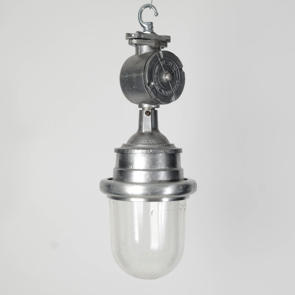Russian Industrial Pendant Light Trainspotters