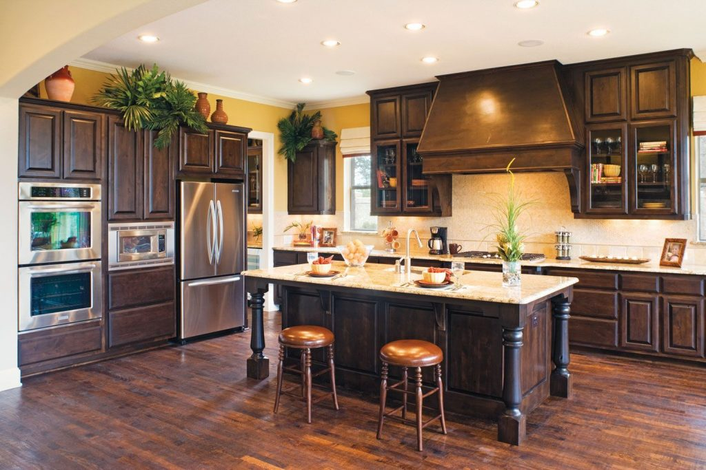 Rustic Alder Kitchen Cabinets Furniture Rustic Holic Accent
