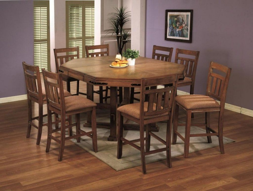 Rustic Counter Height Dining Table Sets Allin The Details