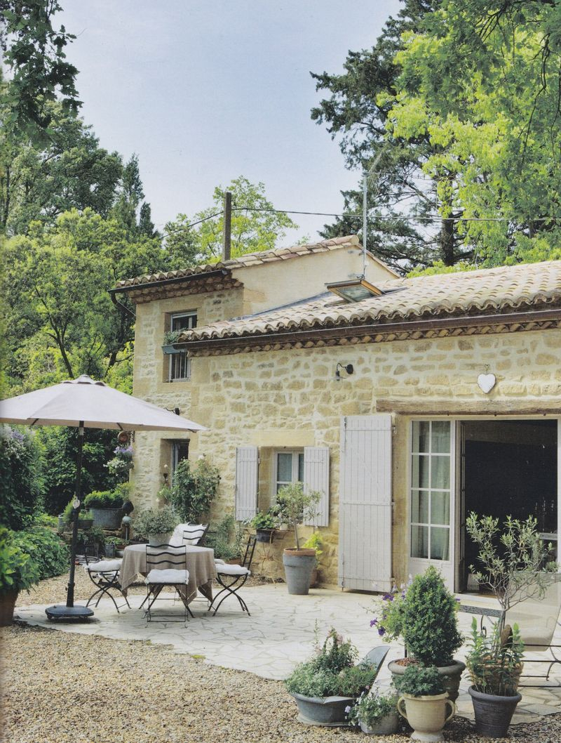 Rustic French Country Home Varandas Para As Quatro Estaes