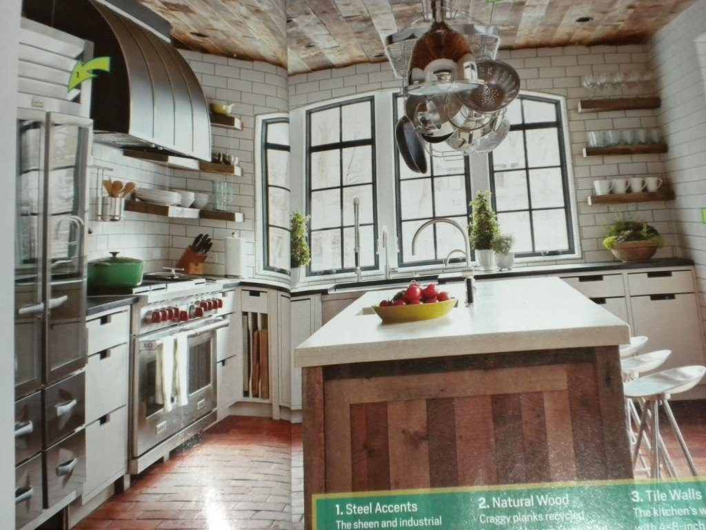 Rustic Industrial Style Kitchen Small Skillsforwellbeing