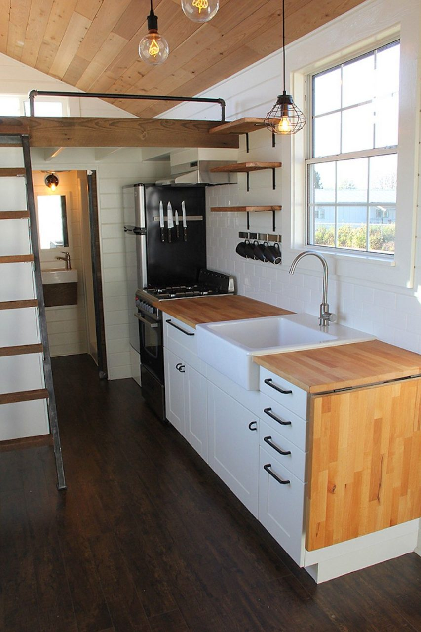 Rustic Industrial Tiny House Living Tiny House Tiny House Swoon