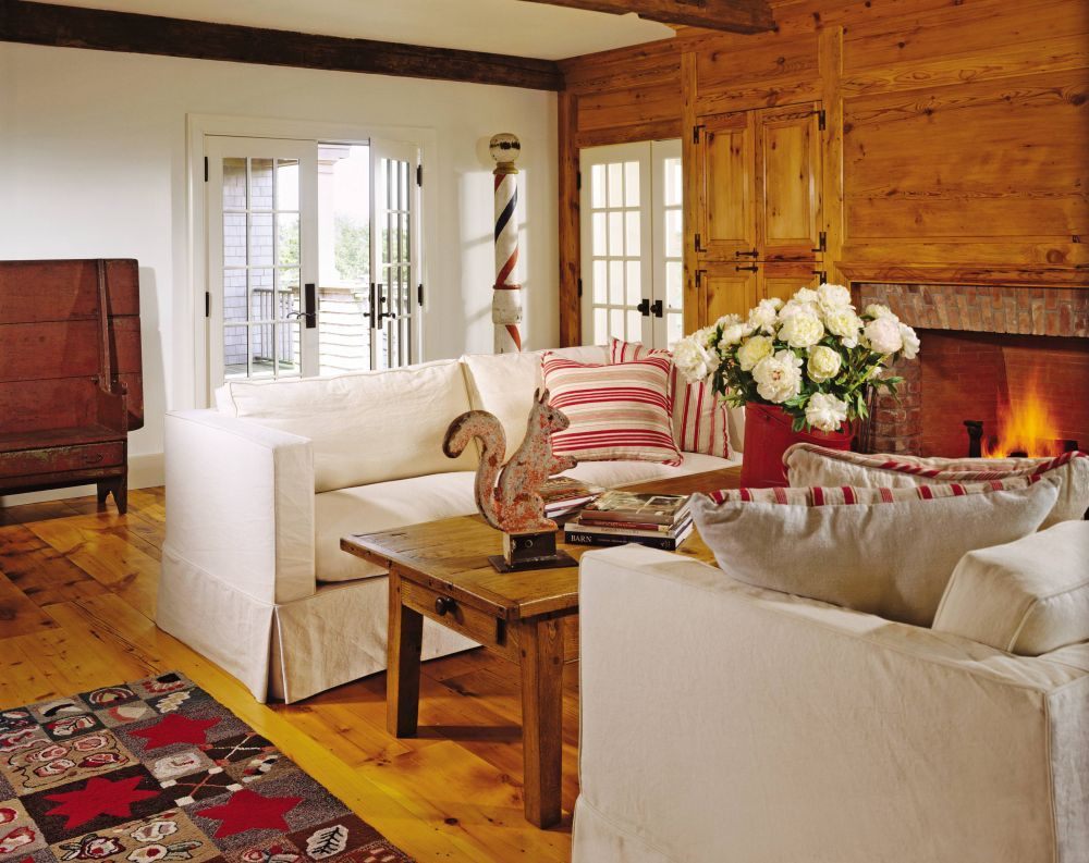 Rustic Living Room Karin Blake Ad Designfile Home Decorating