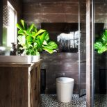 Rustic Master Bath Makeover Hgtv Modern Bathroom Tile Designs Ideas