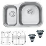Ruvati Undermount Stainless Steel 32 In 16 Gauge 4060 Double Bowl