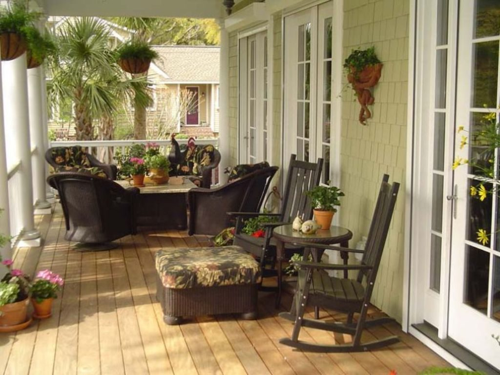 Screened In Patio Decorating Ideas Back And Front Porch Enclosure