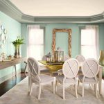Seafoam Green Living Room