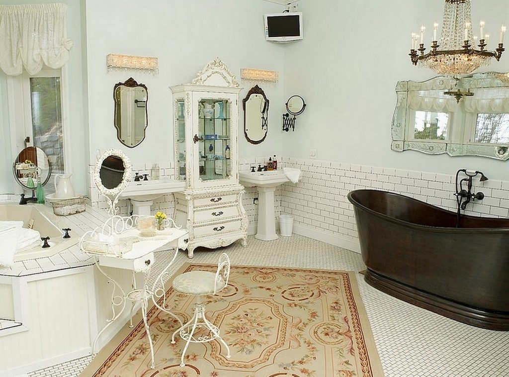 Shab Chic Bathroom Mirror Freesilverguide