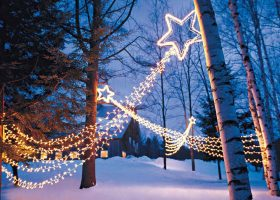 Shooting Star Outdoor Christmas Lights