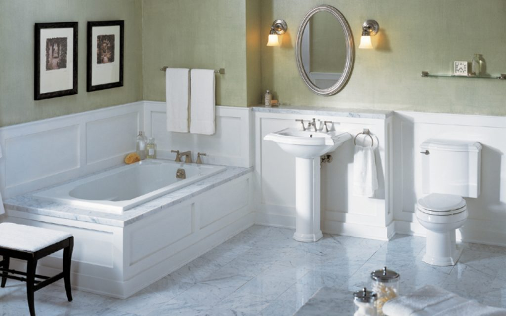 Simple Bathrooms With Wainscoting Paristriptips Design How To