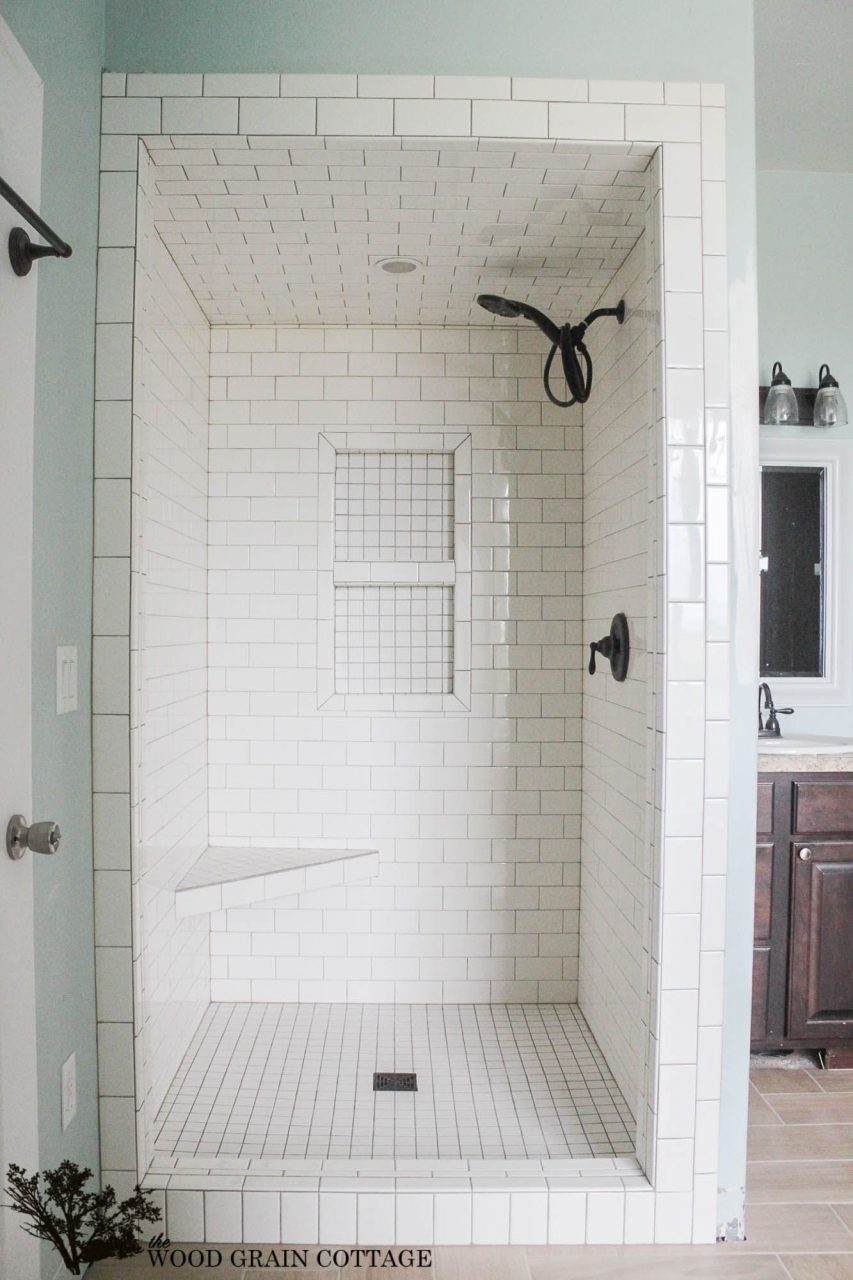 Small Shower Tile Ideas Walk In Shower Plans And Specs Corner Shower