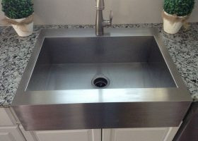 Farmhouse Kitchen Sinks Top Mount Stainless
