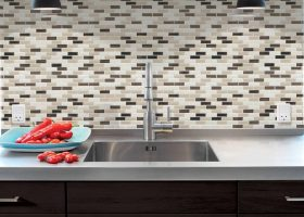 Mosaic Wall Tile Kitchen Backsplash