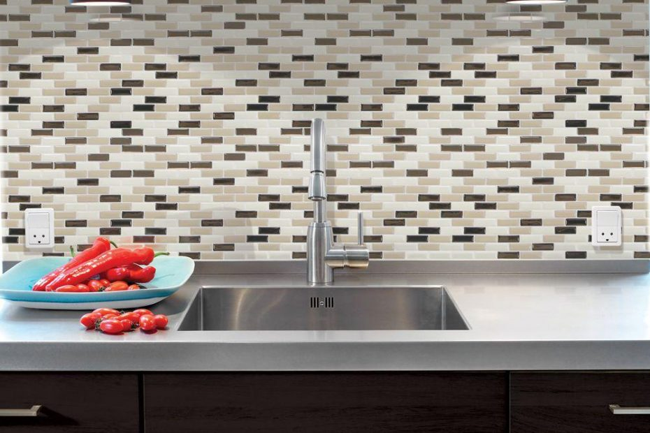 Smart Tiles 910 In X 1020 In Mosaic Peel And Stick Decorative