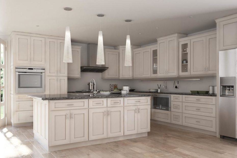 Society Shaker White Chocolate Glaze Kitchen Cabinets Willow Lane