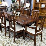 South Cone Dining Table With 8 Chairs Consignment Gallery