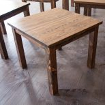 Square Farmhouse Table Square Farmhouse Dining Table Etsy