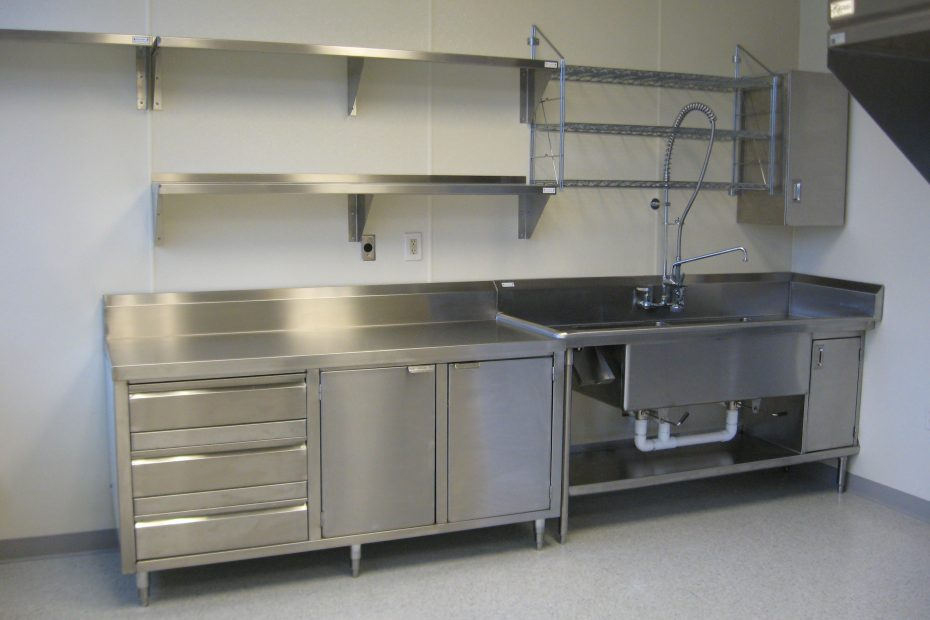 Stainless Steel Kitchen Shelf Eveaquila