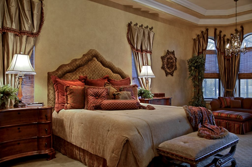 Tampa Interior Decorators Old World Charm Bedroom Terri White
