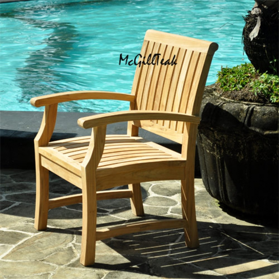 Teak Patio Chair Furniture Home And Garden Furniture High Class