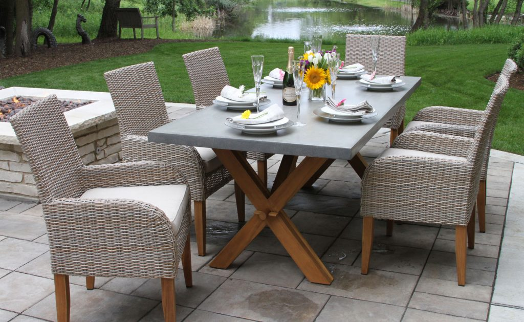 Teak Wicker Furniture Collection From Outdoor Interiors