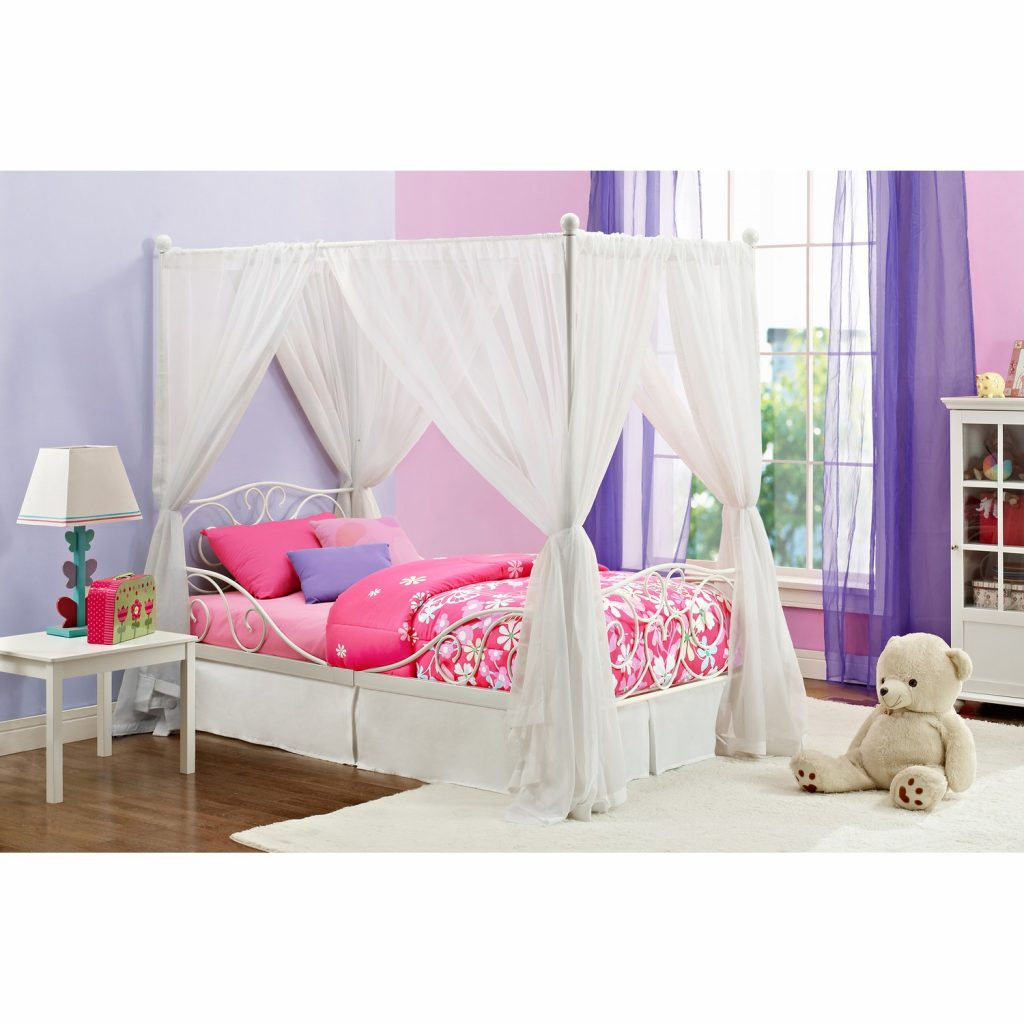 Terrific Twin Canopy Bed Frame Offer Fabulous Design Ajara Decor