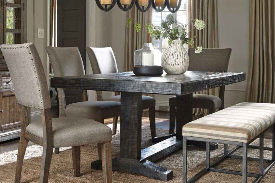 Urban Farmhouse Dining Room Table Sets Layjao