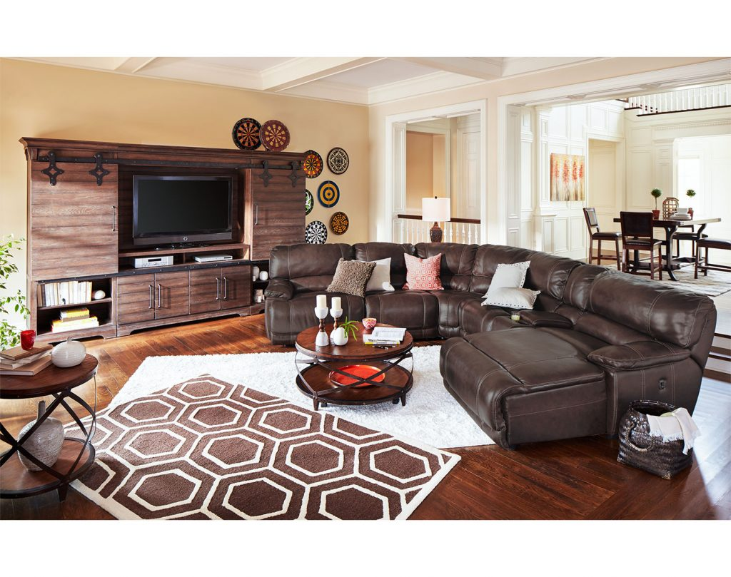 The St Malo Collection Brown Value City Furniture And Mattresses