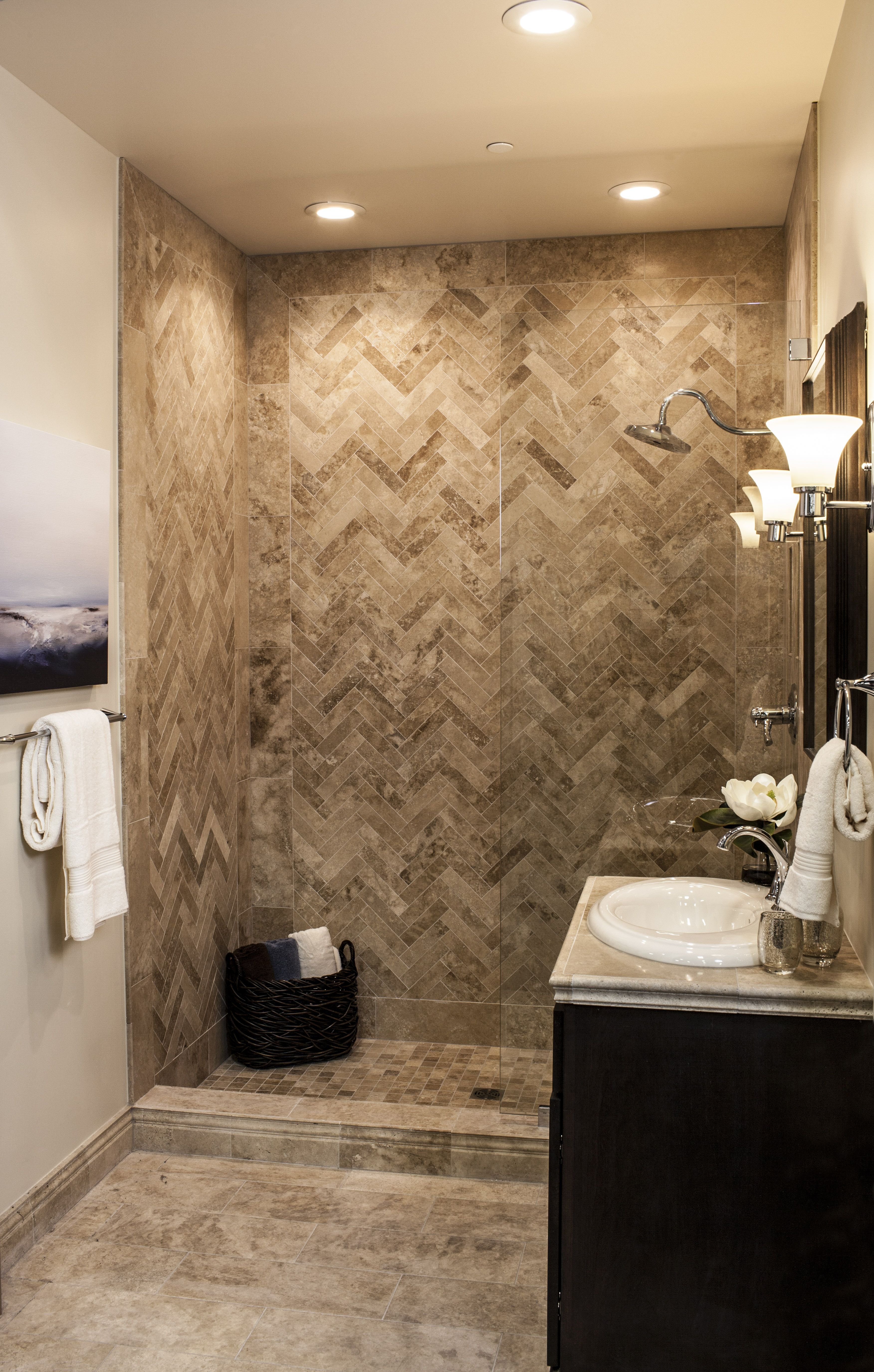 The Ultimate Travertine Tile Shower
