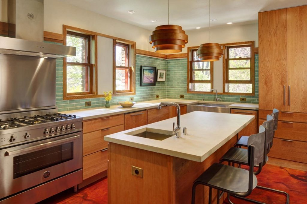 Tile Projects Kitchen Mid Century Modern Kitchen