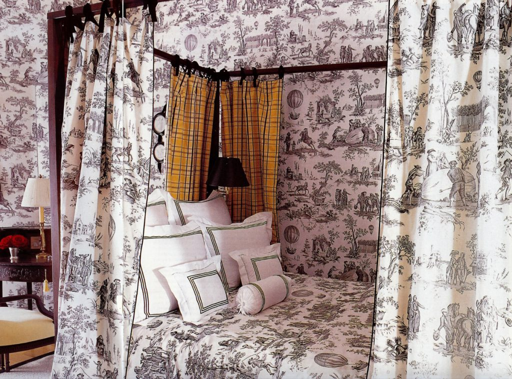 Toile Bedrooms Atticmag