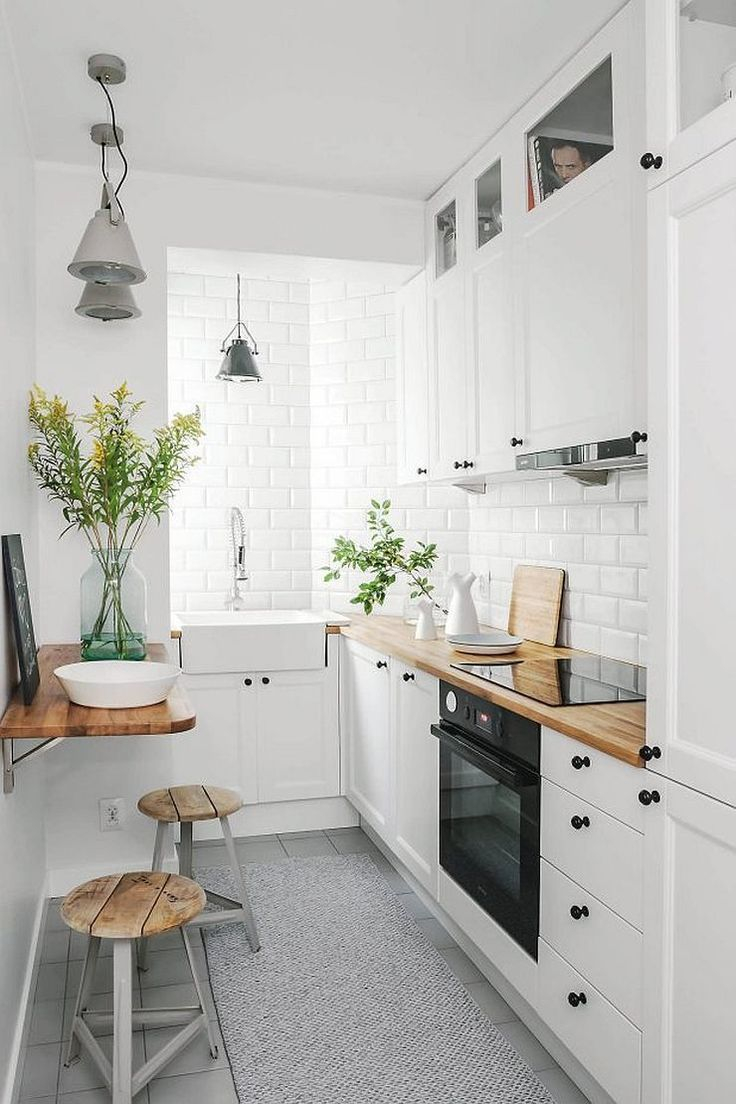 Top 10 Amazing Kitchen Ideas For Small Spaces Homes Pinterest