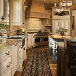 Traditional Kitchen With White Cabinets French Country Styles