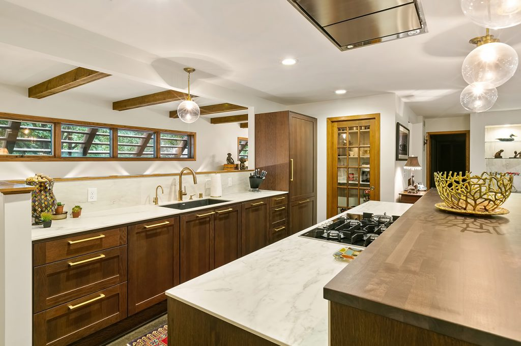 Traditional Mid Century Modern Kitchen Puustelli Usa